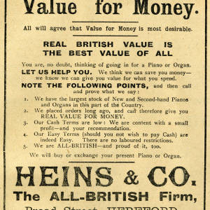 Heins and co. - value for money