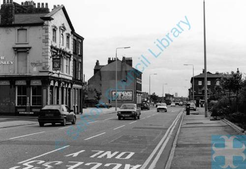 Derby Road Bootle, 1987