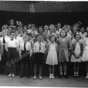 High Green Junior School pupils, 1953.