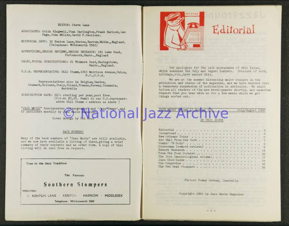 Jazz Music Vol 11 No 7&8 1960 0001 - National Jazz Archive