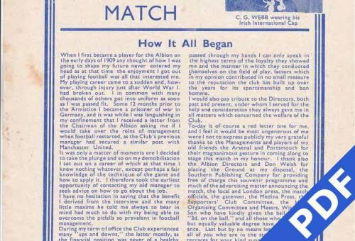 19490925 Arsenal Test