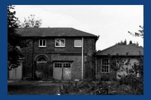 Copse Hill: Workshops, formally stables