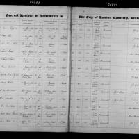 Burial Register 16 - May 1869 to December 1869