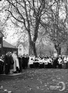 Armistice Day Service, Cricket Green