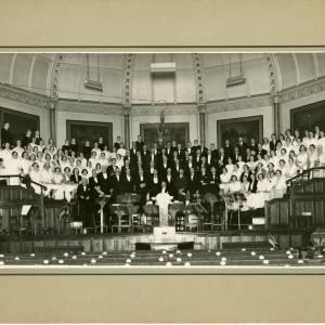 Hereford Choral Society - Shirehall c1936