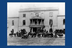 Wimbledon Fire Brigade at Wimbledon House