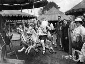 Mitcham Fair Fairground rides
