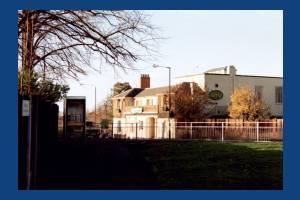 Epsom Road, Morden: The George  - a Harvester restaurant