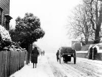 Whitford Lane in winter