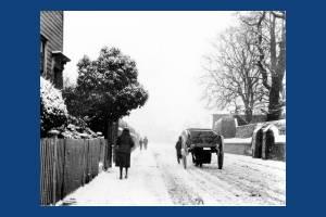Whitford Lane in winter