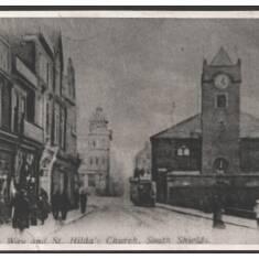 Church Way and St Hilda's Church, South Shields
