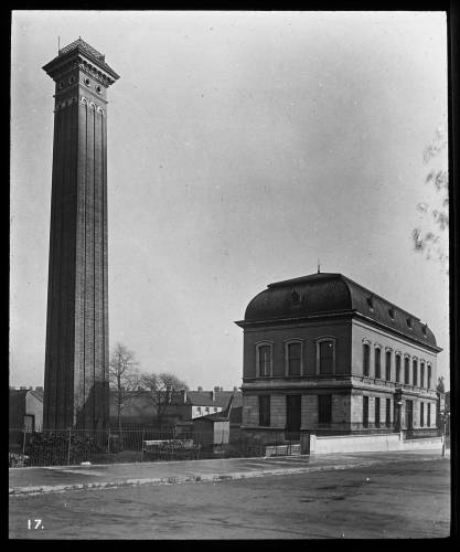 Western pumping station exterior