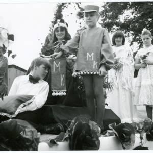 1978 Children on Ross Carnival float, 10th August 1978