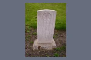 Gravestone of Maurice M W Knott