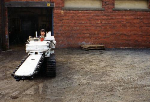 008 Coal-cutter AB15 on Mindev tracks & 10ft jib