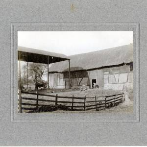 Aylton Court Farm, Ledbury,  1910