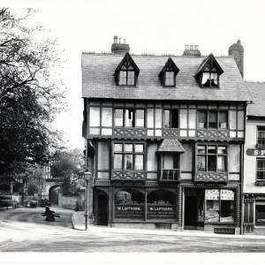 King Street, Hereford - House at corner of King Street and Gwynne Street