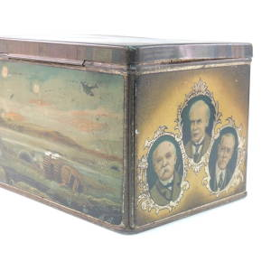 Ridgeways peace tea caddy c.1918