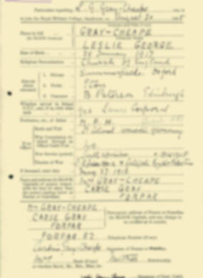 RMC Form 18A Personal Detail Sheets Aug 1935 Intake - page 88