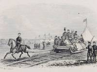 National Rifle Association camp: Horsedrawn railway