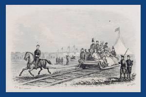 National Rifle Association camp: Horsedrawn railway