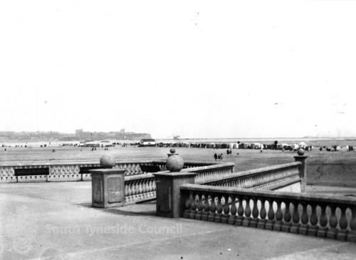 South Shields Promenade and beach