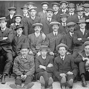 Methodist Chapel, Wortley Road High Green, group of members.