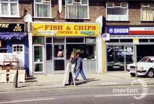 Fair Green, Mitcham: The Modern 'Chippie'.