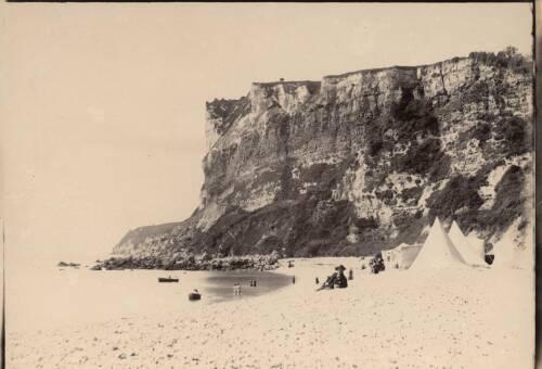 White cliff, c1900, Seaton