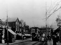 Tram on Worple Road, Wimbledon