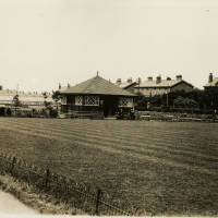 Waterloo , Victoria Park , bowling green, 1930s
