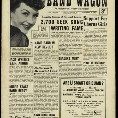Vol.1 No.20 24 February 1940
