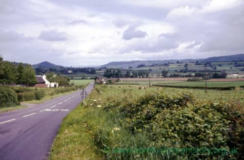 Herefordshire, view towards Canon Pyon, 1973