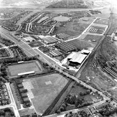 Aerial View of West End of South Shields