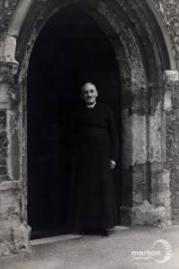 Canon Jagger, Vicar of St. Mary's Parish Church, Merton