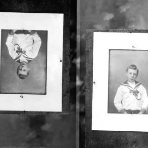 G36-549-07 Two images of a boy in a sailor suit on the same plate.jpg