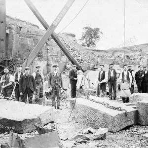 19th century quarry of Grenoside Sandstone