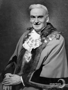 Alderman C.A. Norris, Mayor of Mitcham 1962-63