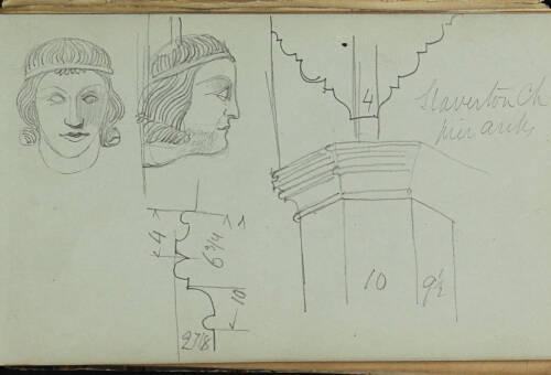 Page 58 of sketchbook 1
