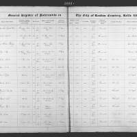 Burial Register 4 - October 1860 to June 1861
