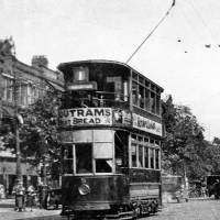 Southport, Lord Street, electric tram