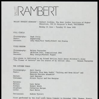 Rambert Academy