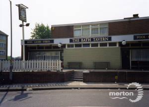 Bath Tavern, Cobham Court, Haslemere Avenue