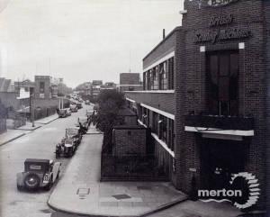 Deer Park Road, Merton: Factories
