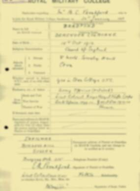 RMC Form 18A Personal Detail Sheets Jan & Aug 1931 Intake - page 15