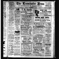 Leominster News - September 1914