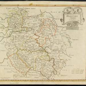 Herefordshire, Morden, 1695