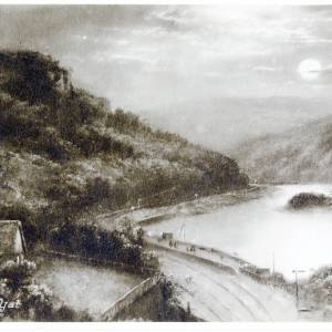 Symonds Yat, view of river Wye