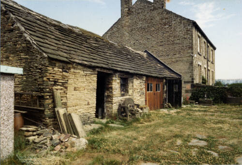 019 Old farm buildings (now demolished)