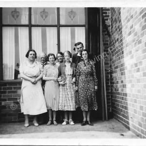 Grenoside Isolation Hospital Staff Group c. 1920s (3)